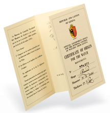 Vacheron Constantin Horloges - Hallmark of Geneva
