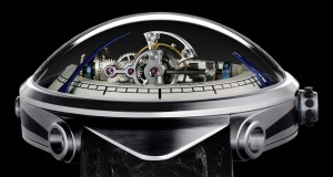 glazen koepel Deep Space Tourbillon