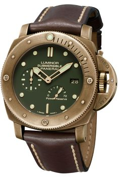 Luminor Submersible Bronzo PAM507