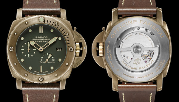 PAM507 Panerai Luminor Submersible Bronzo